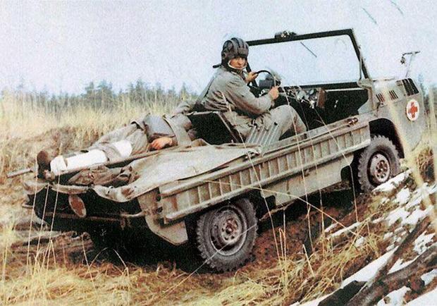 Фото №7 - Советский автомобиль для управления из положения лежа