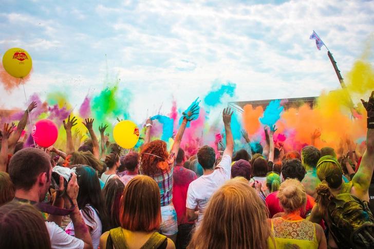 Фото №1 - Фестиваль красок в Томске