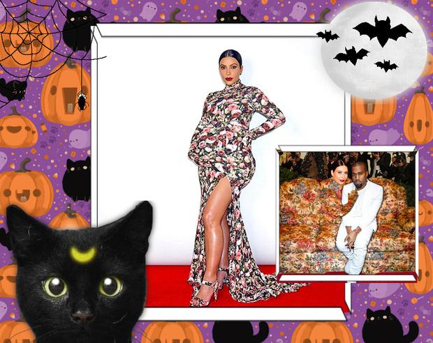Фото №19 - Лучшие костюмы звезд с прошедшего Хэллоуина