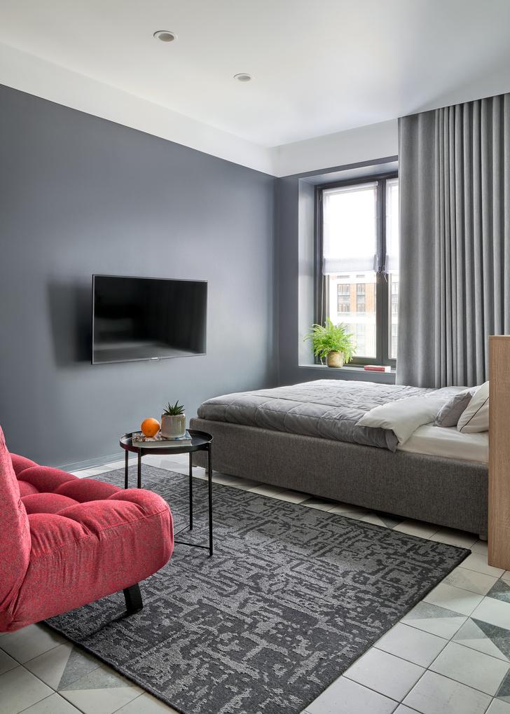 Фото №5 - Стильные апартаменты 31 м² для сдачи в аренду в Москве