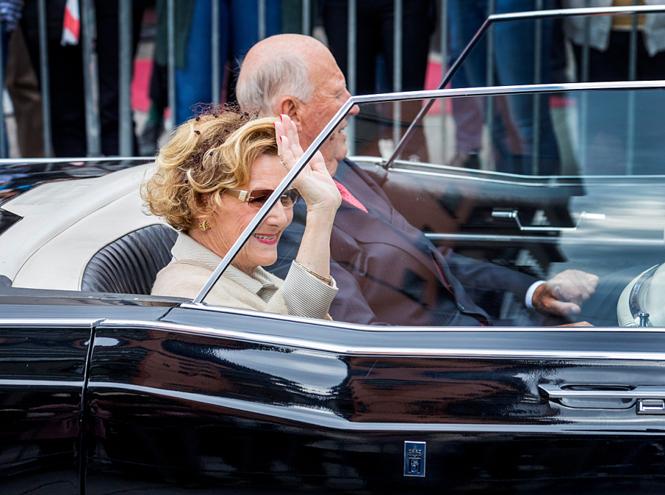 Фото №2 - Как король и королева Норвегии отметили золотую свадьбу