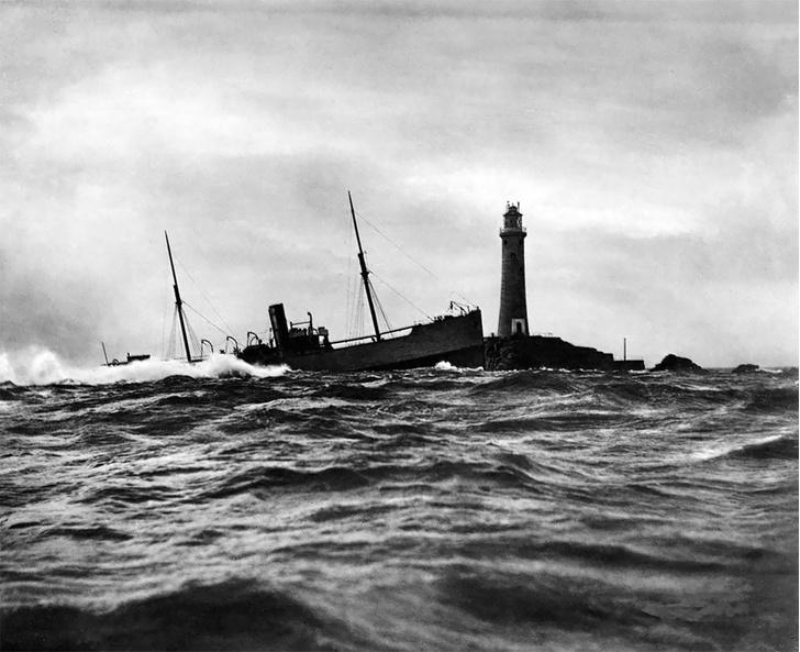 Фото №1 - Не повезло: старинные фотографии кораблекрушений