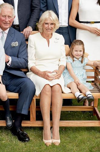 Фото №13 - Что рассказал о Кембриджских, Сассекских и Уэльских их семейный портрет