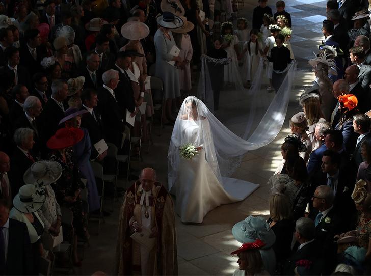 Фото №2 - Какой момент королевской свадьбы Меган будет помнить всю жизнь