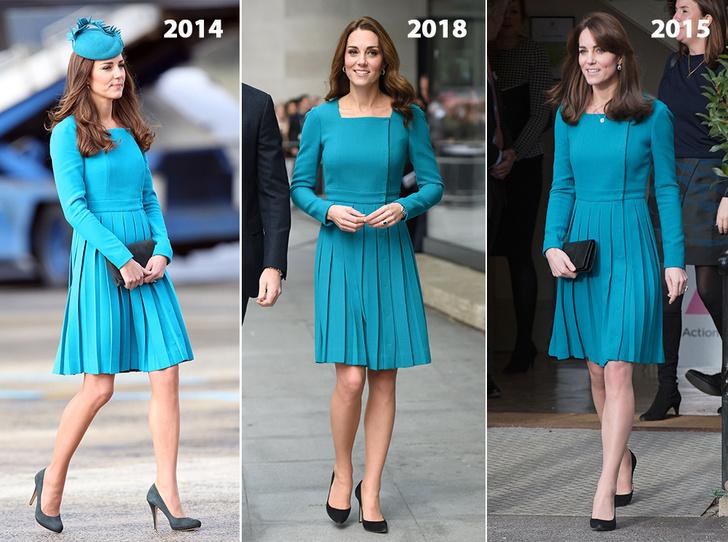 Фото №15 - Почему Кейт носит старые наряды, а Меган покупает новые