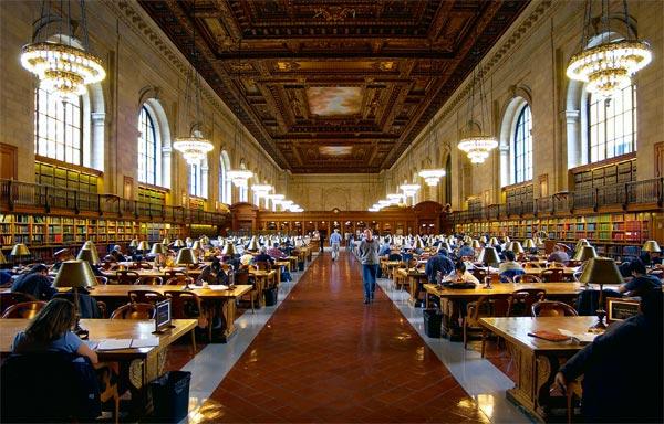 Фото №1 - Библиотека в большом городе