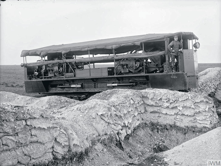 Фото №3 - Прототанки: самые сумасшедшие танки в истории