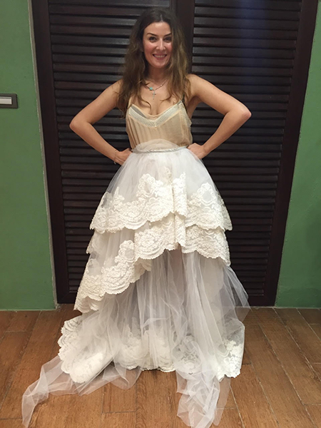 Фото №2 - Жанна Бадоева: «Три раза выходила замуж и всегда – в белом платье»