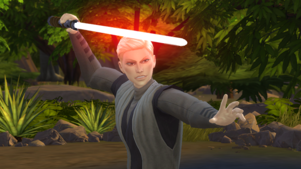 Фото №1 - Play Time: Играем в новое дополнение The Sims 4 «Star Wars: Путешествие на Батуу»