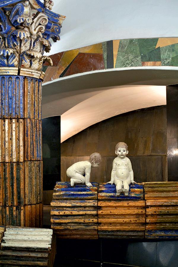 Фото №12 - 15 удивительных фрагментов московского метро