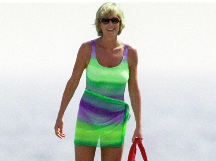 Фото №3 - Как выглядеть безупречно даже на пляже: стильный лайфхак принцессы Дианы
