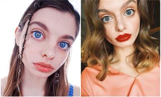 Интернет не может понять, настоящие у девушки глаза или нет