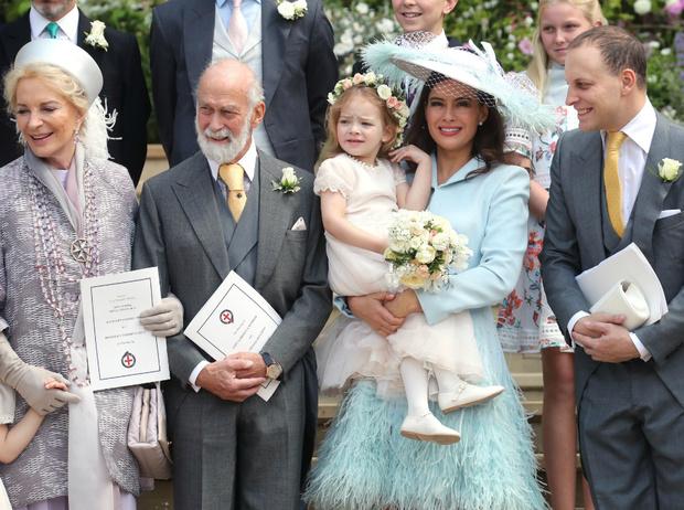 Фото №1 - 10 самых стильных гостей на свадьбе Леди Габриэллы Виндзор
