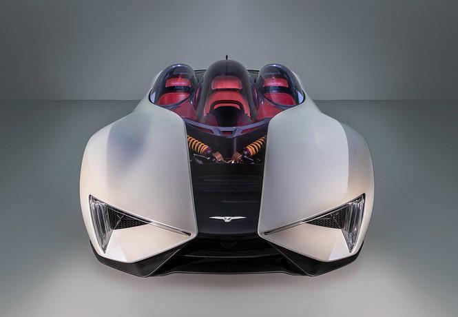 Фото №3 - Techrules Ren: гибридный суперкар с дизельными газотурбинными двигателями