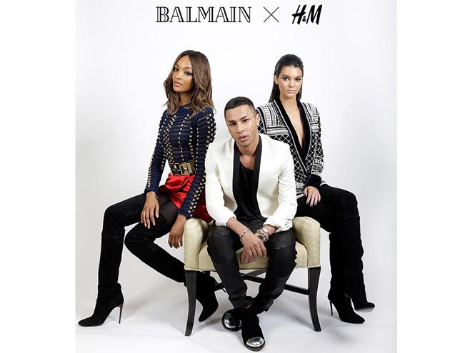 Фото №1 - H&M и Balmain выпустят совместную коллекцию