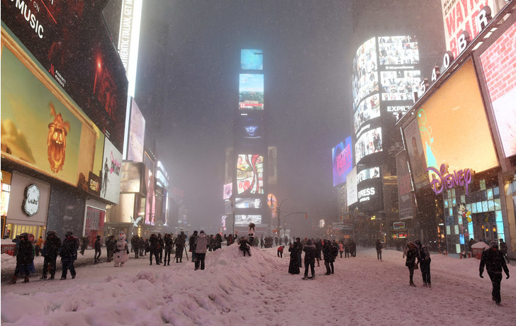 Фото №1 - Завалило снегом