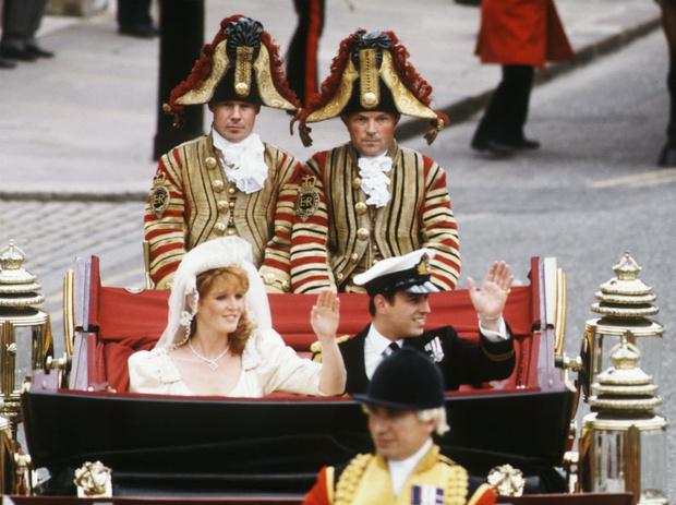 Фото №3 - Предчувствие беды: что пошло не так на свадьбе Сары Фергюсон и принца Эндрю