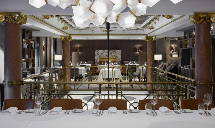 Фото №1 - Ресторан Savva по дизайну Ирины Глик