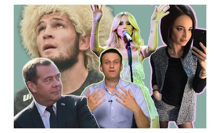 Фото №1 - Названы самые популярные люди в России за 10 лет, по данным Google Trends