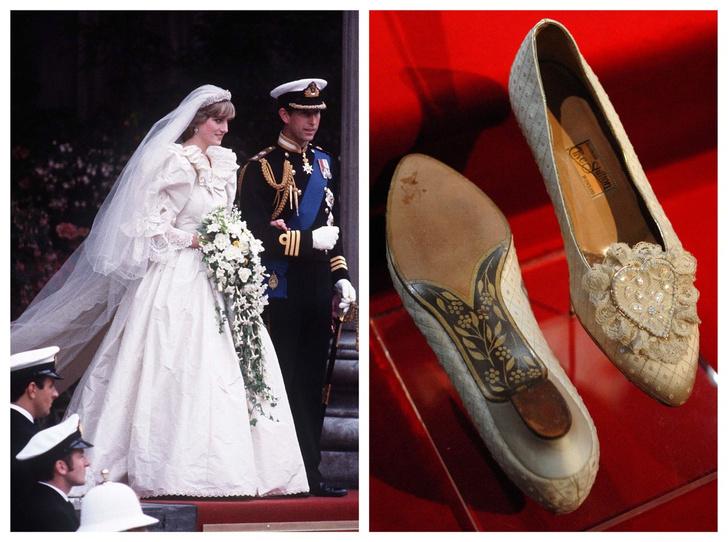 Фото №1 - Загадка принцессы: секрет свадебных туфель Дианы Спенсер