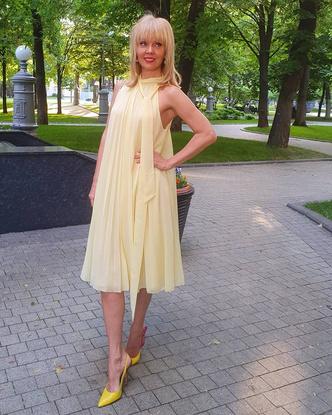 Валерия в платье от Бони