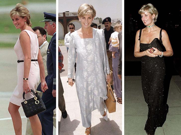 Фото №1 - Любимые сумки принцессы Дианы