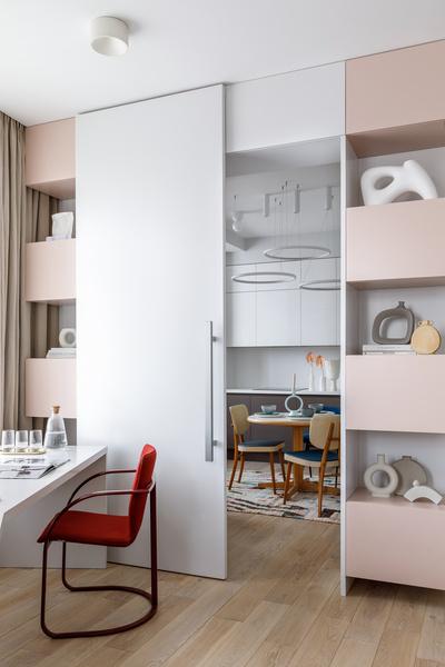 Фото №6 - Zero-waste: московская квартира 79 м² для молодой художницы