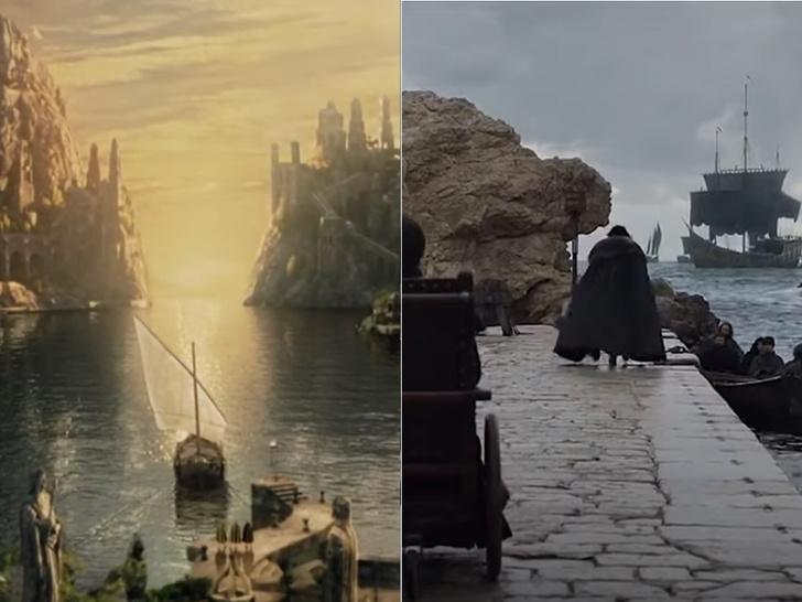 Фото №3 - 9 раз, когда «Игра престолов» повторила «Властелина колец»