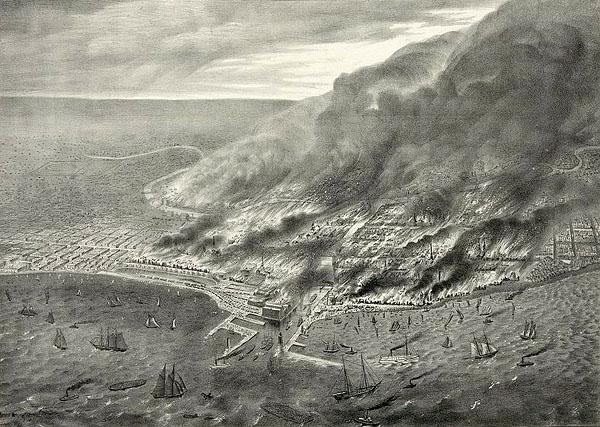 Фото №1 - Пожары большого города