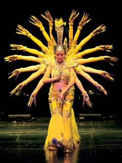 Фото №1 - Как танцует тысячерукая Гуаньинь?