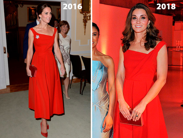 Фото №5 - Почему Кейт носит старые наряды, а Меган покупает новые