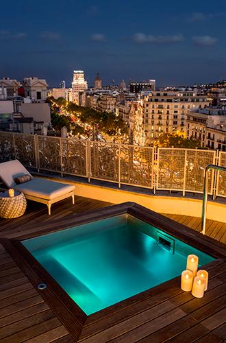 Фото №5 - Вид сверху: самый большой пентхаус в сердце Барселоны