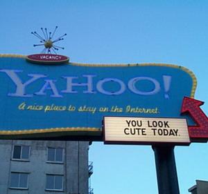 Фото №1 - На Yahoo появится реклама от Google