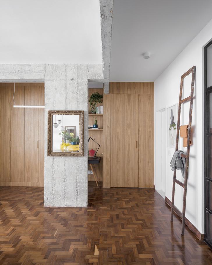 Фото №4 - Квартира с зеленой перегородкой в Сан-Паулу