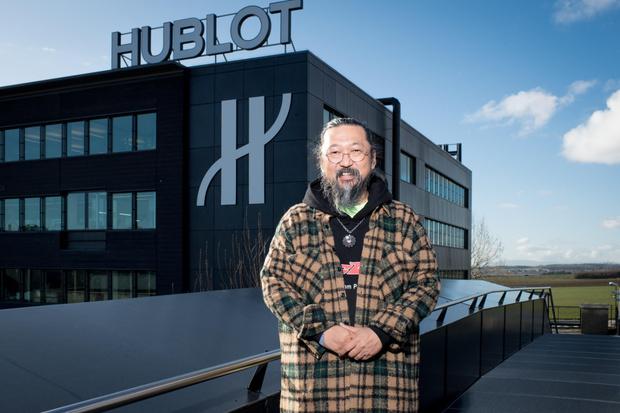 Фото №2 - На грани искусства и технологий: Hublot выпустил часы вместе с Такаси Мураками