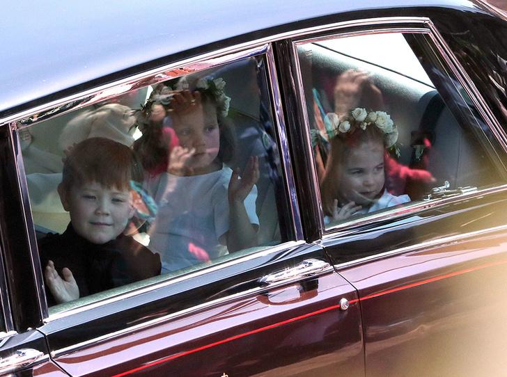 Фото №69 - Свадьба Меган Маркл и принца Гарри: как это было (видео, фото, комментарии)