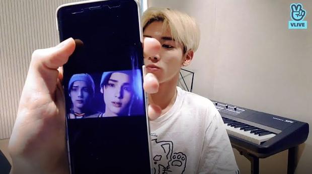 Фото №1 - So cute: обои на телефоне этих айдолов разобьют тебе сердечко 💔