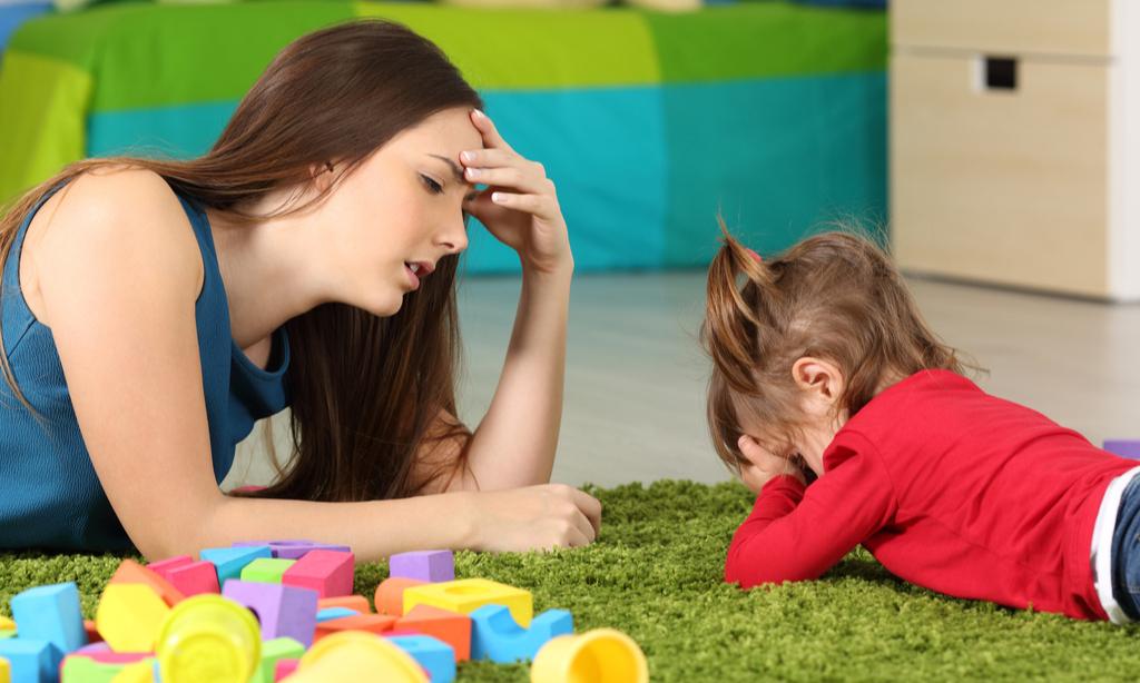«Меня раздражает мой ребенок— хочется его ударить»
