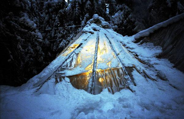 Фото №1 - Новый год на бывшей финской границе