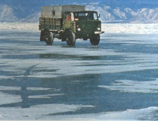 Фото №1 - В ледяной купели Байкала