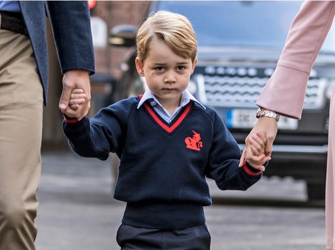 Фото №2 - Принц Джордж получил свою первую работу