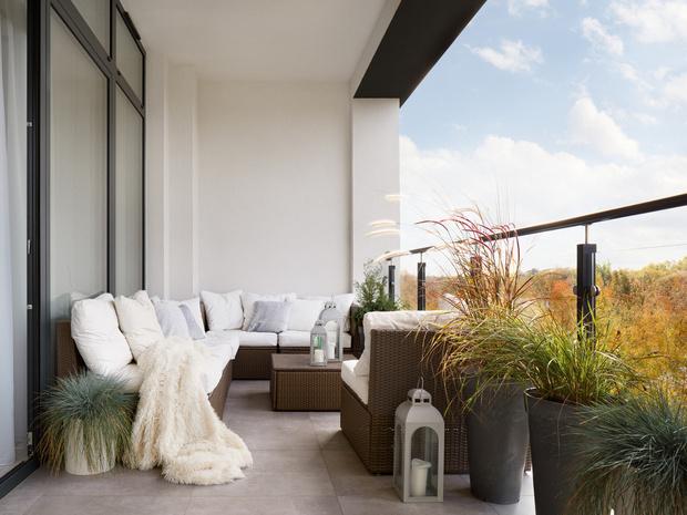 Фото №1 - Домашний оазис: как превратить балкон в комнату отдыха