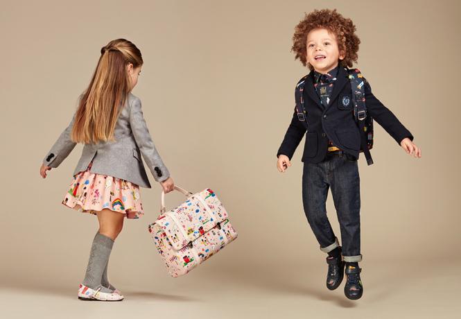 Фото №23 - Модные школьники: детская коллекция Dolce&Gabbana осень-зима 16/17