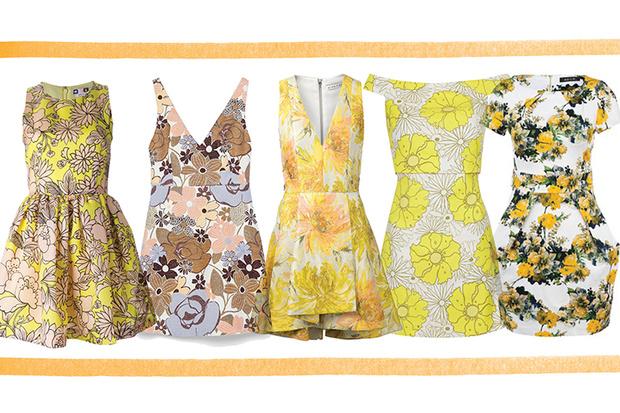 Платье, MSGM; платье, Zara, 2 999 руб.; платье, Alice + Olivia; платье, Topshop; платье, Ad Lib, lamoda.ru, 3 190 руб.