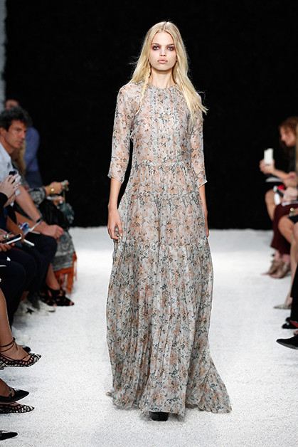 Vera Wang Dress Spring 2015