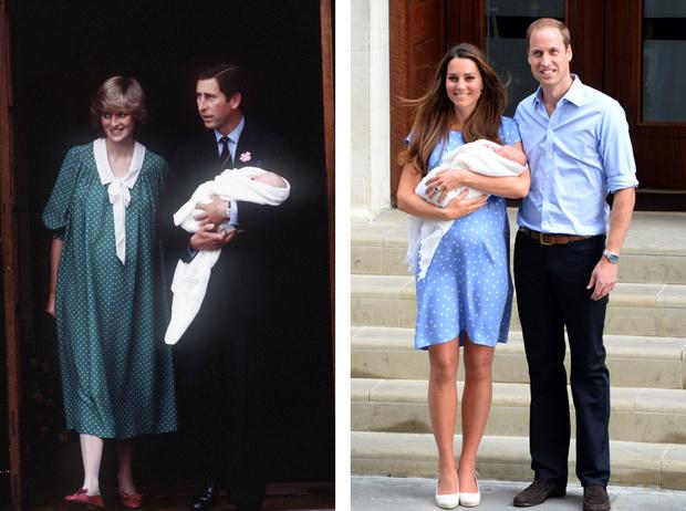 Фото №27 - Самые трогательные моменты трех выписок герцогини Кембриджской из роддома