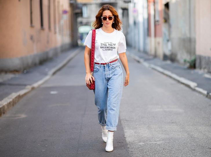 Фото №1 - Было ваше, стало наше: как и с чем носить джинсы-бойфренды
