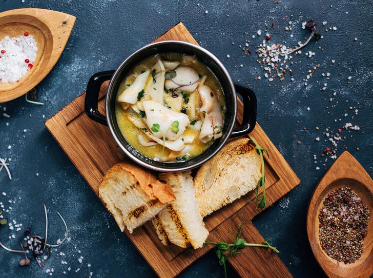 Фото №5 - Море зовет: мидии в томатном соусе и кальмар с чесноком