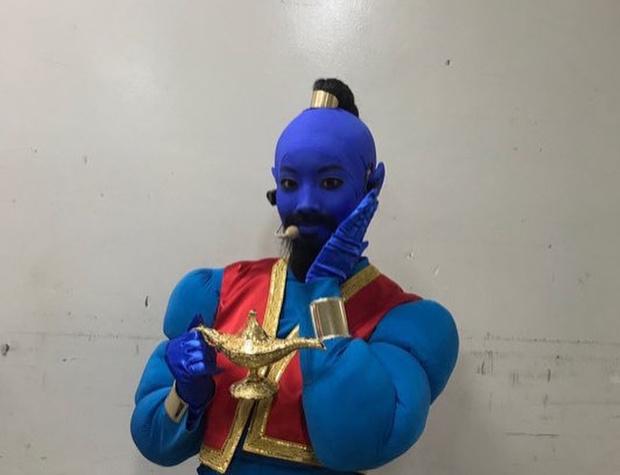 Фото №10 - 10 лучших костюмов k-pop айдолов на Хэллоуин