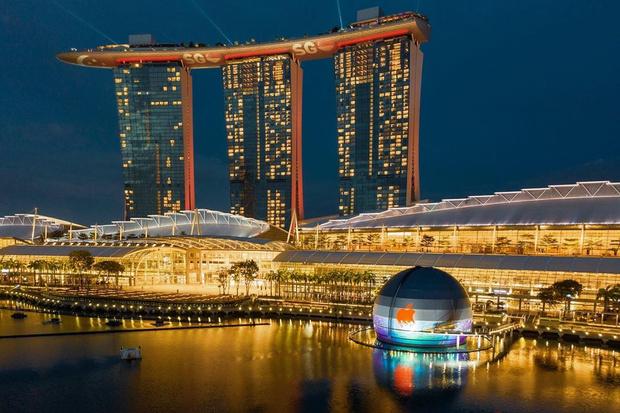 Фото №11 - Новый Apple Store по проекту Foster + Partners в Сингапуре